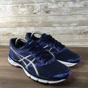 Asics Gel Excite 4 Navy Blue Running Shoes Size 9